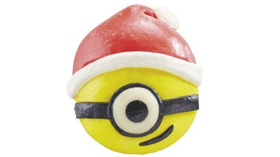 Santa Minion Steam Bun