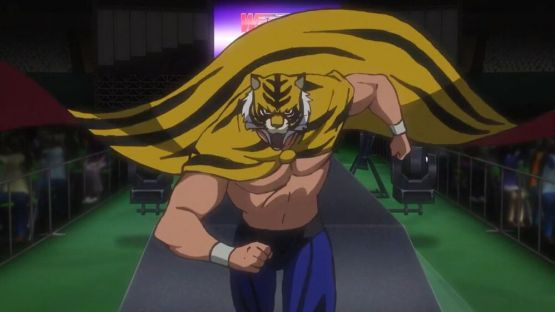 Gambar Tiger Mask Anime