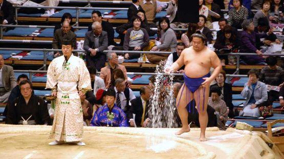 Pertandingan sumo
