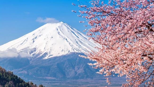 Gunung Fuji, salah satu Gunung Suci di Jepang (planetware.com)