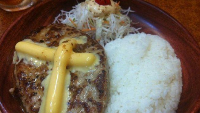 Cheese Burg Dish di Bikkuri Donkey (wow-j.com)
