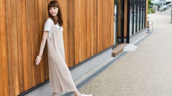 Selain rok, bia menggunakan dress panjang. (matcha-jp.com)