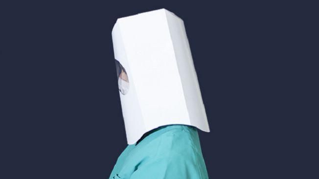 Hacode Guard terbuat hanya dari selembar kertas. (soranews24.com)