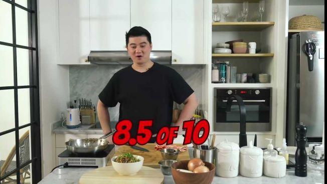 Nilai dari Chef Arnold untuk Souma (YiuTube: Arnold Poernomo)