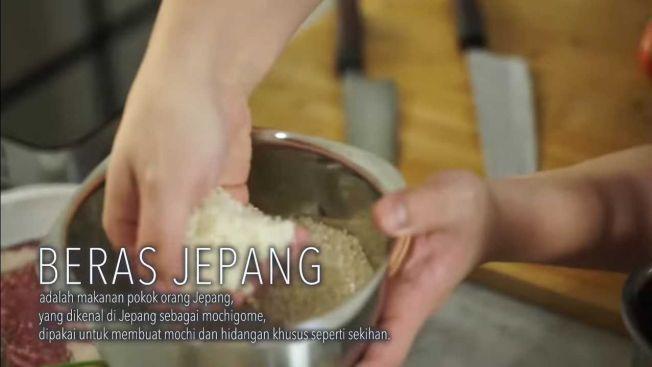 Beras Jepang, salah satu bahan penting Chaliapin Steak (YouTube: Arnold Poernomo)