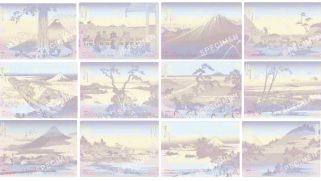 24 Lukisan Gunung Fuji Katsushika Hokusai (soranews24.com)