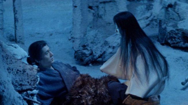 Cerita hantu Yuki-onna dalam film Kwaidan (framerated.co.uk)