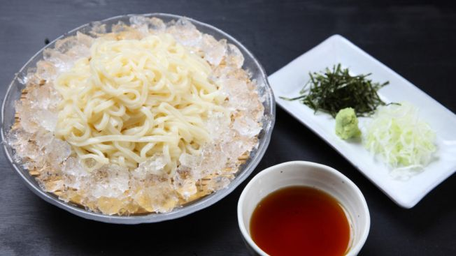 inaniwa udon,makanan lezat akita, prefektur akita