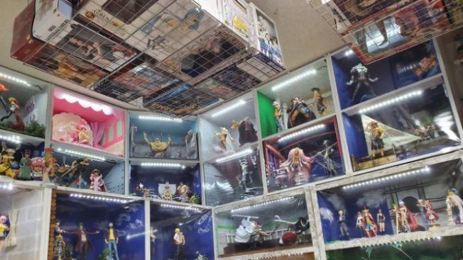 Koleksi action figure, Ayah otaku, one piece