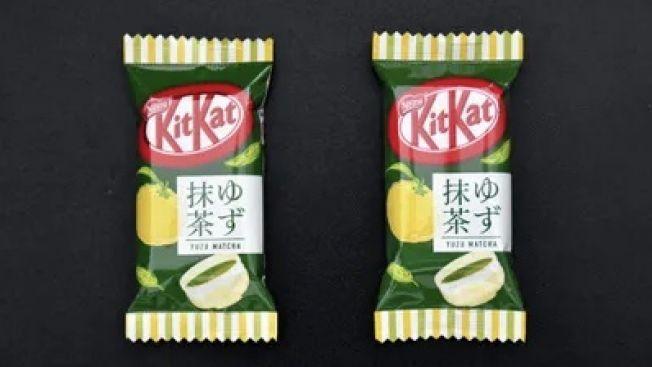 Kit-Kat Yuzu Matcha