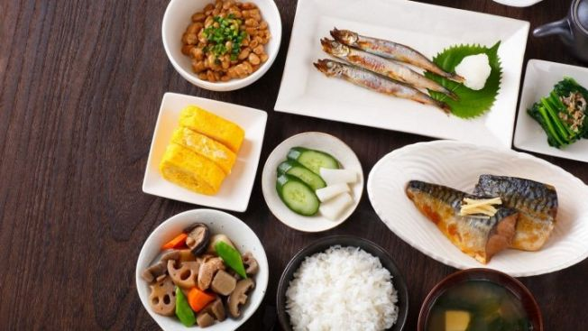 menu sarapan jepang, hidangan jepang