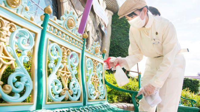 Tokyo Disneyland, Protokol Kesehatan