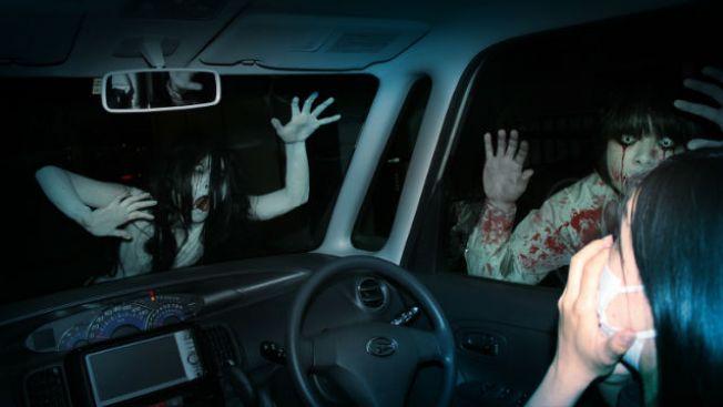 rumah hantu drive-in
