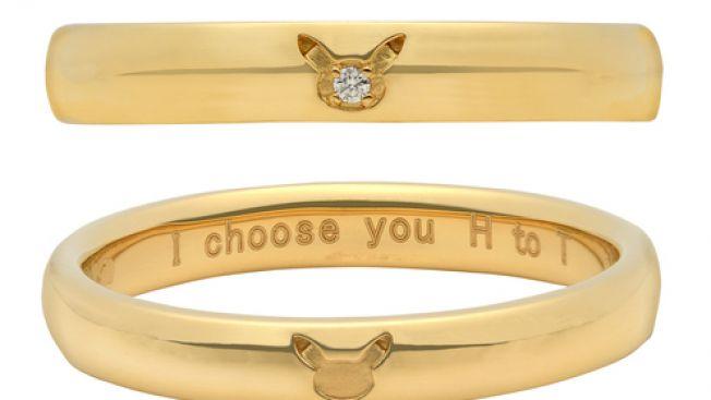 cincin pernikahan pikachu