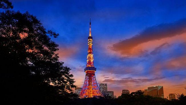 Pemandangan Tokyo Tower