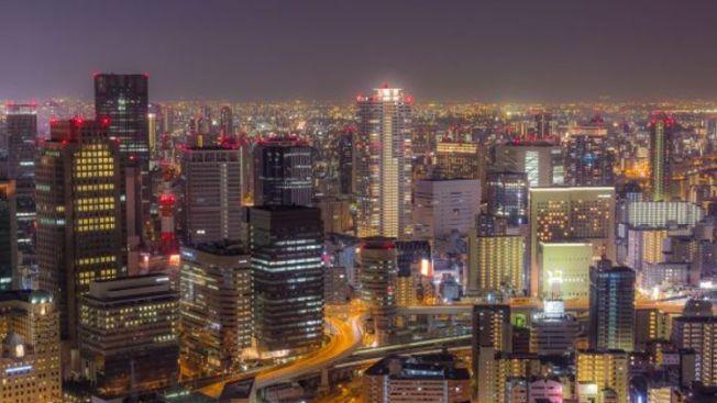 pemandangan malam terbaik osaka, Umeda sky building