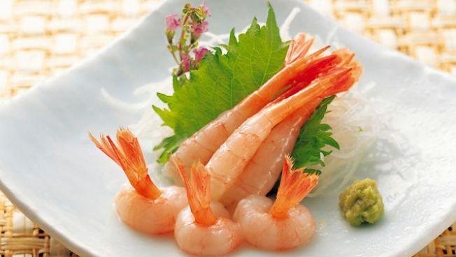 Sashimi udang