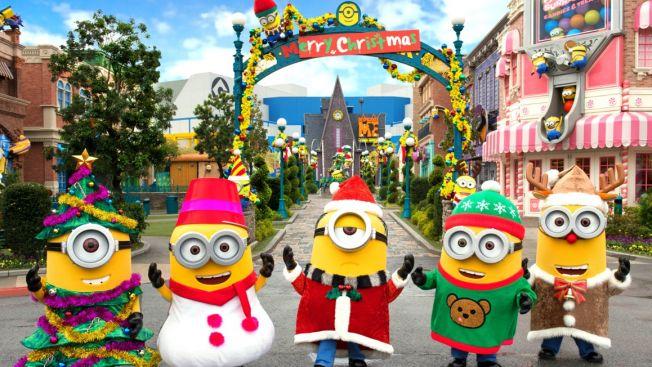 Minion Park's Yellow Christmas