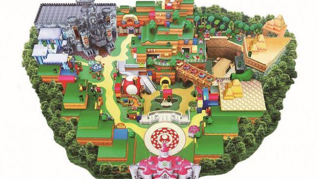 Peta Arena Super Nintendo World