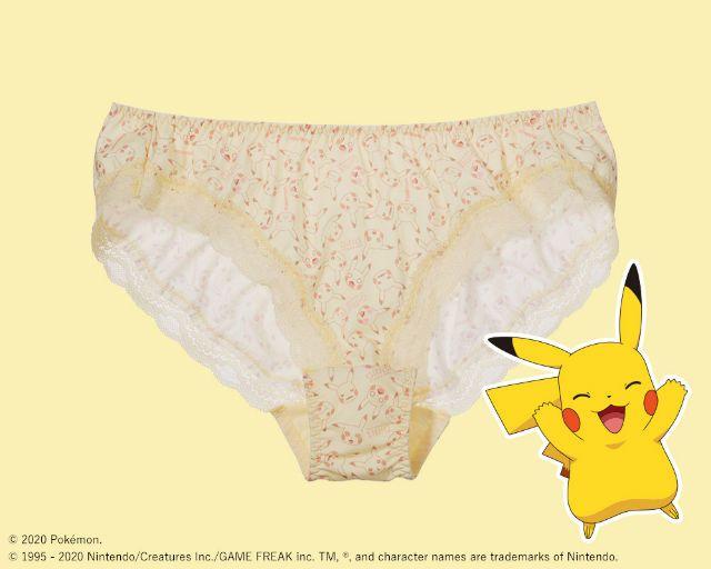 Pikachu panties. (grapee.jp)