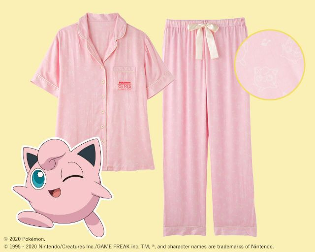Jigglypuff pajamas. (grapee.jp)