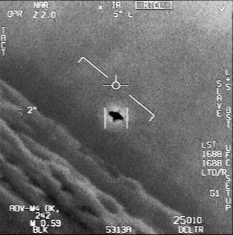 Ufo dalam video footage dari pemerintah Amerika.