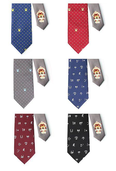 Aneka variasi dasi lainnya (grapee.jp)