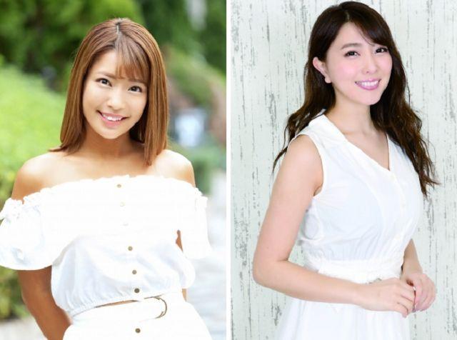 Rina Hashimoto (kiri) dan Tomomi Morisaki (kanan) (soranews24.com)