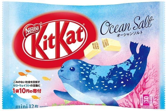 KitKat Ocean Salt Anjing Laut (grapee.jp)
