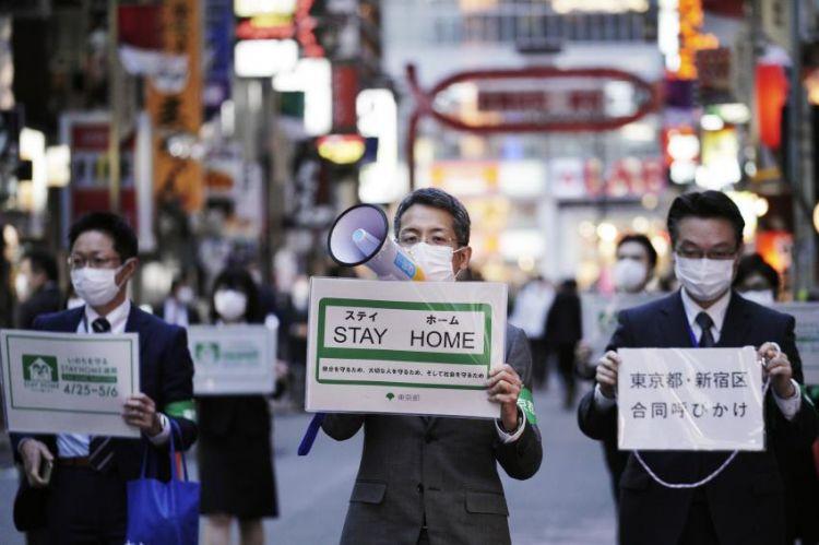 Pemerintah Jepang mengimbau warganya agar tetap Stay At Home. (japantoday.com)