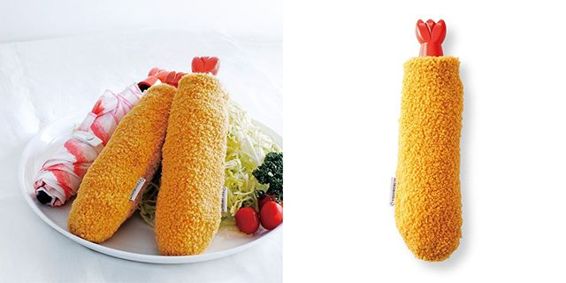 Payungnya sangat mirip dengan udang goreng kan? (grapee.jp)