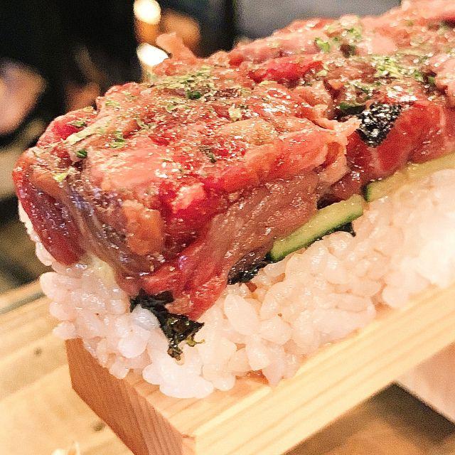 Lezatnya makan sushi yukhoe (soranews24.com)