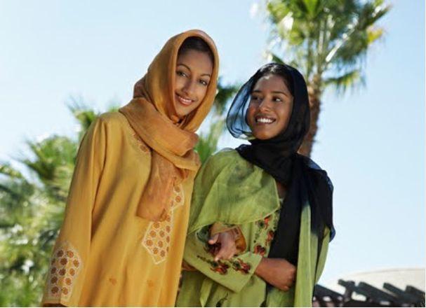 Ilustrasi wanita Muslim. (kyoto.travel)