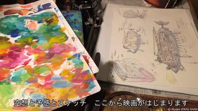 Sketsa dalam pameran