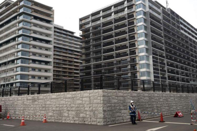 The Olympic Village, Tokyo.(japantoday.com)
