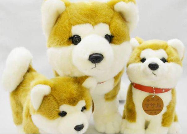 Boneka Masaru tersedia dalam berbagai ukuran dan bentuk. (livejapan.com)