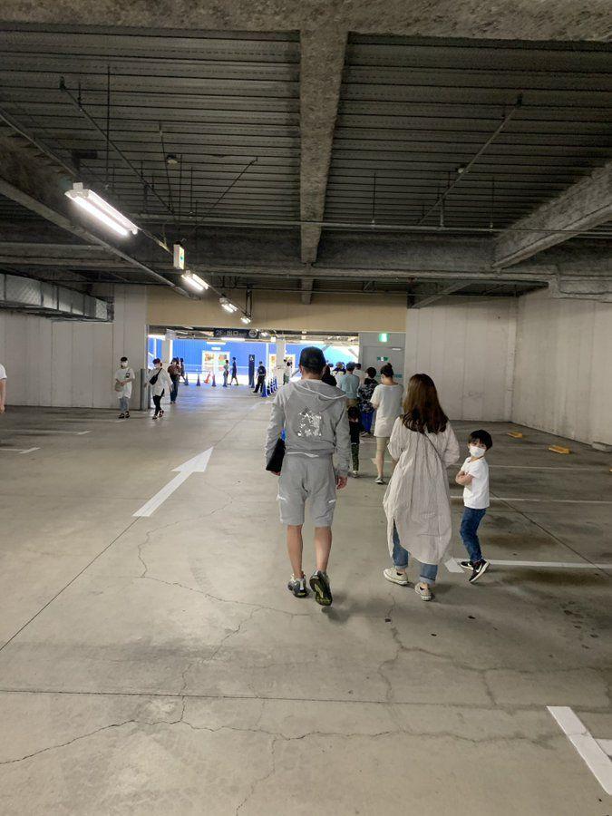 Ikea Shinmisato, Saitama yang terlihat lebih kosong. (twitter: @matsudo_news)