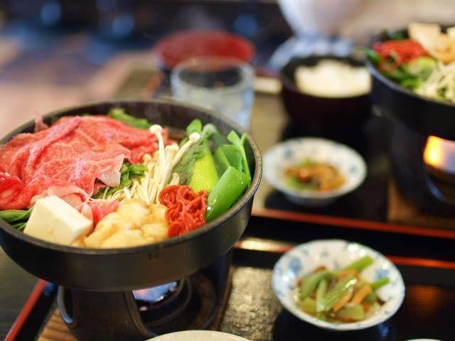 Sukiyaki dari Omi beef (wow-j.com)