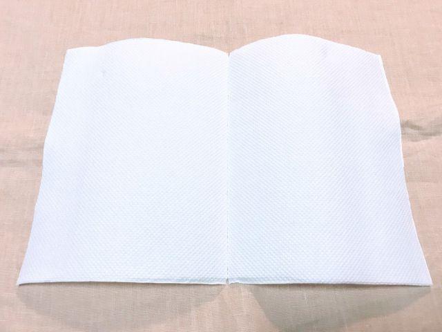 Gunakan tisu berbentuk persegi panjang (soranews24.com)