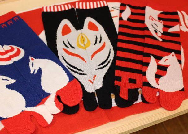 Kacco's original fox socks di Gallery Kacco (livejapan.com)