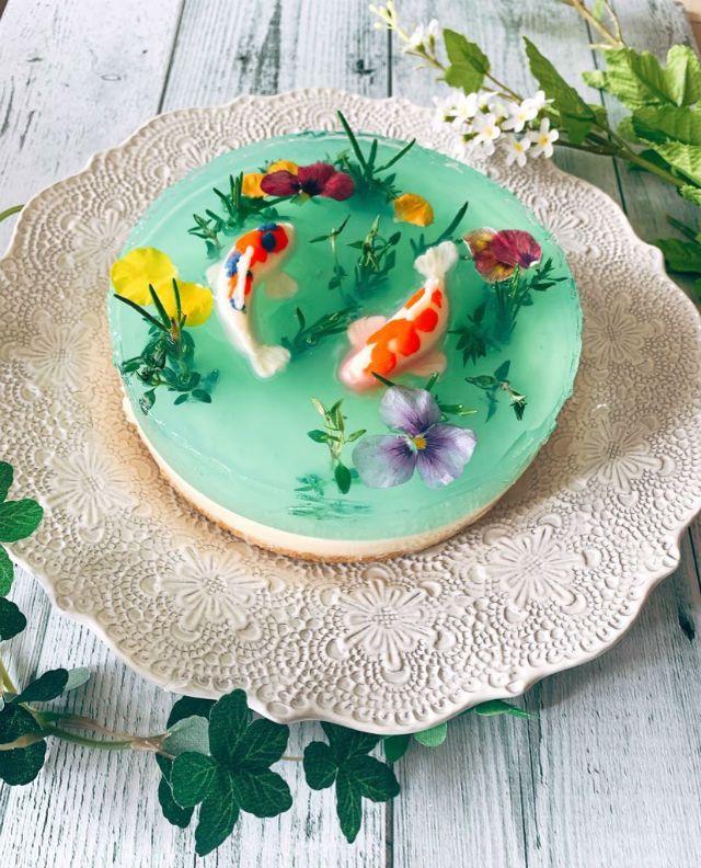 Cheesecake Jepang Kolam Monet (grapee.jp)