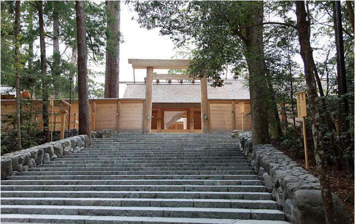 Kotaijingu (Naiku) di Ise Jingu (isejingu.or.jp)