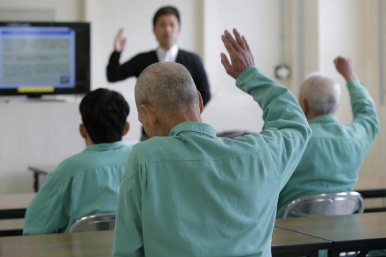 Tahanan lansia di Penjara Sasebo, Jepang (straitstimes.com)