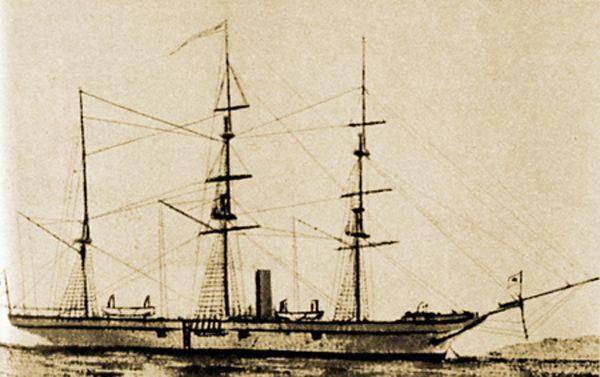 Kanrin Maru, kapal perang pertama Jepang (en.wikipedia.org)