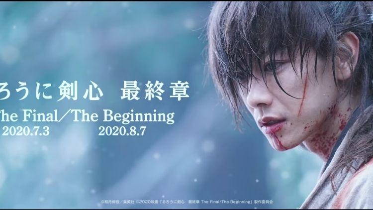 Rurouni Kenshin final chapter (YouTube: Warner Bros Official Channel)