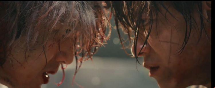 Salah satu scene dari teaser Live Action Rurouni Kenshin Final Chapter (youtube: Warner Bros Official Channel)