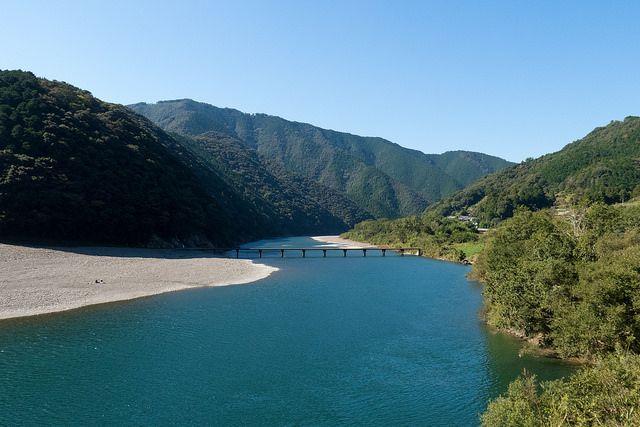 Sungai Shimanto (tsunagujapan.com)