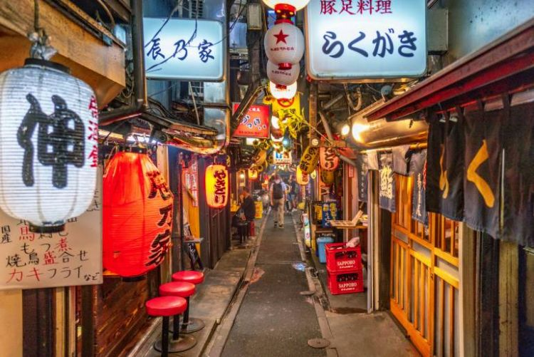 """Berpetualan di Piss Alley"""" (atau Omoide Yokocho) - (tokyocheapo.com)"""