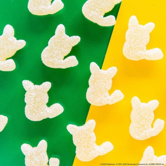 Permen dengan bentuk seperti Pikachu (soranews24.com)