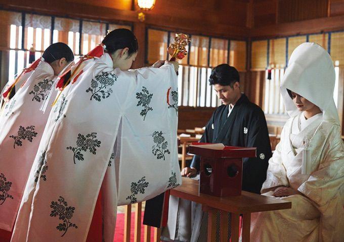 Pernikahan di Jepang (meijikinenkan.gr.jp)